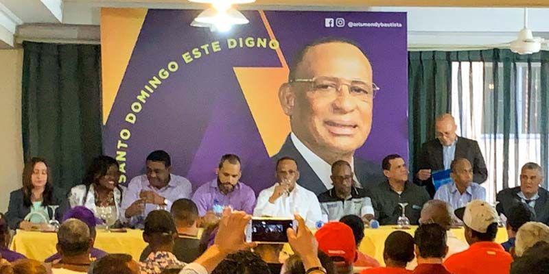 Photo of Aspirante a la Alcaldía Arismendy Bautista se reúne con líderes sociales de SDE + Vídeo
