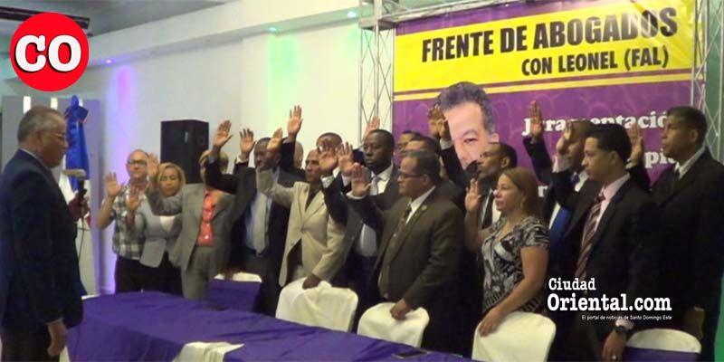 """Photo of Abogados con Leonel radicalizados contra """"dictadura política"""" que auspiciaría Danilo Medina"""