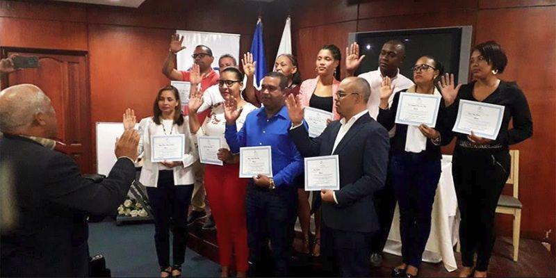 Photo of CDP juramenta nuevos miembros y entrega certificados