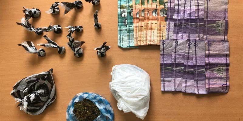 Photo of Policía y Ministerio Público desmantelan punto de venta de marihuana operado por una mujer en SDE