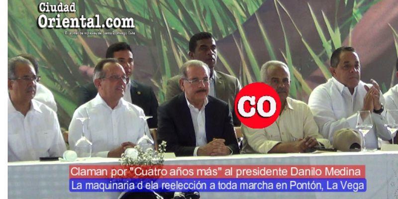 Photo of La maquinaria de la reelección de Danilo Medina a toda marcha en Pontón, La Vega + Vídeo