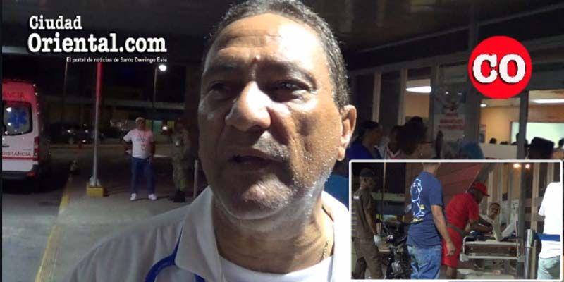 Photo of Abundaron la noche del sábado Santo los accidentados y heridos por riñas en el Hospital Dr. Darío Contreras + Vídeo