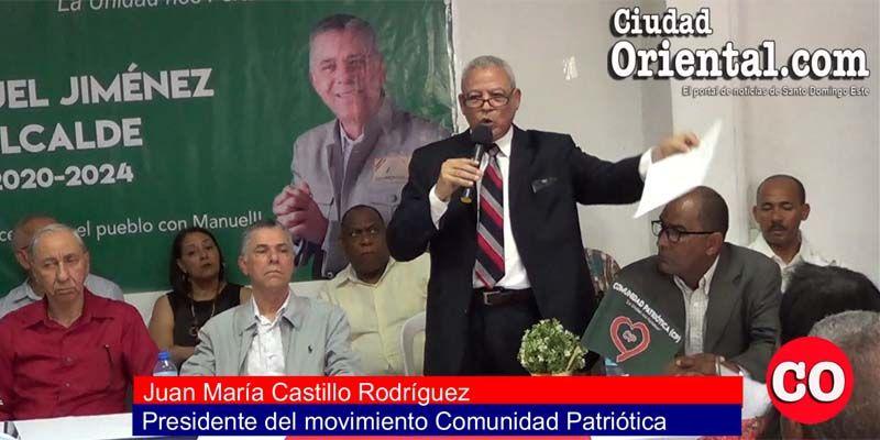 Photo of Manuel Jiménez concita el respaldo de más sectores externos al PRM