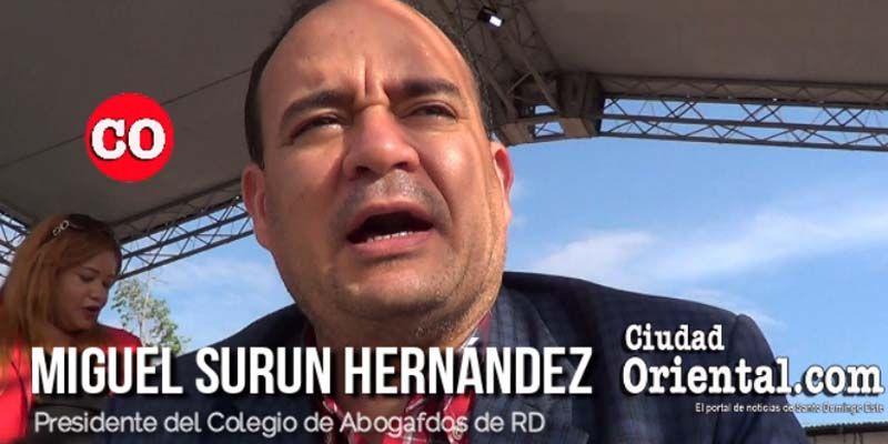 Photo of Miguel Surun respalda reelección de Danilo Medina + Vídeo
