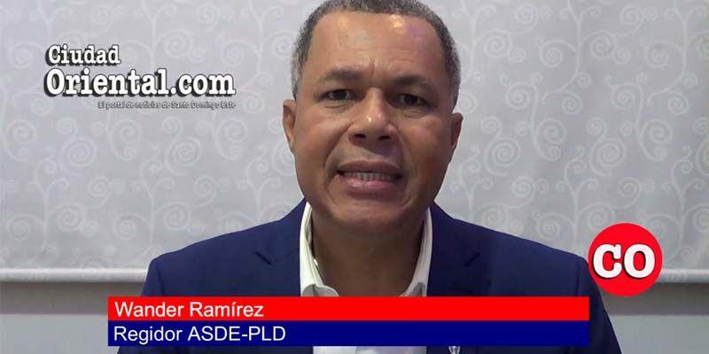 """Photo of El  Presidente de la Comisión de Finanzas del ASDE, Wander Ramírez, abandona el """"barco de la reelección"""" de El Cañero + Vídeo"""
