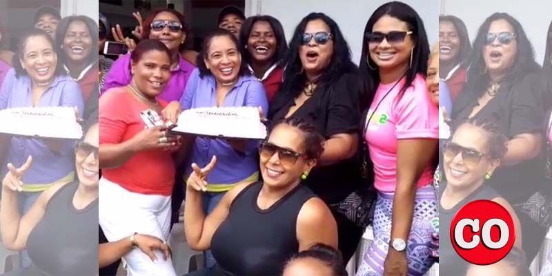 "Photo of Gladys Olea celebra su ""próximo triunfo"" como pre candidata a regidora + Vídeo"
