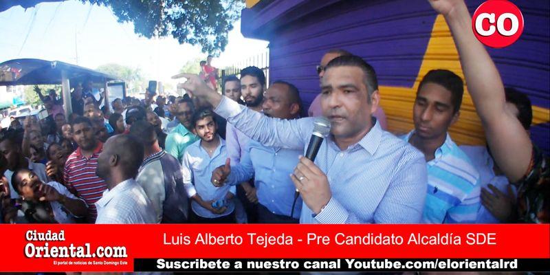 Photo of Luis Alberto emerge con fuerza y dispuesto a plantar pelea por la nominación a la Alcaldía + Vídeos