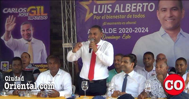 Photo of Carlos José Gil abraza la causa de Luis Alberto Tejeda en la Circunscripción 3 de SDE + Vídeos