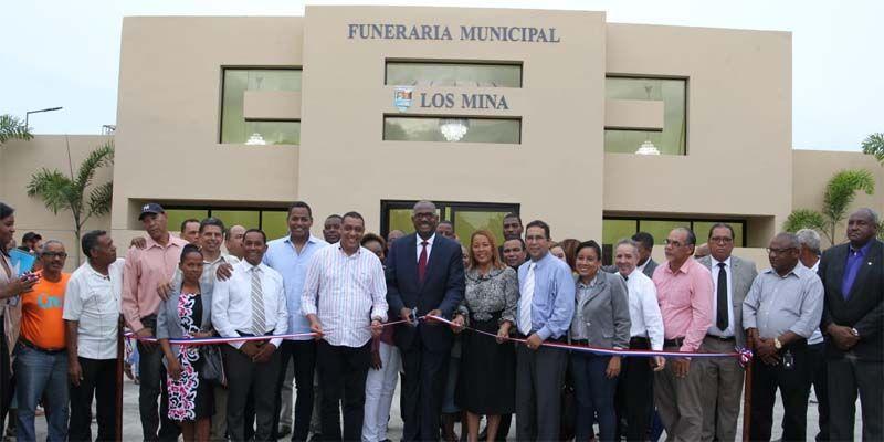 Photo of ASDE inaugura funeraria municipal en el sector de Los Mina