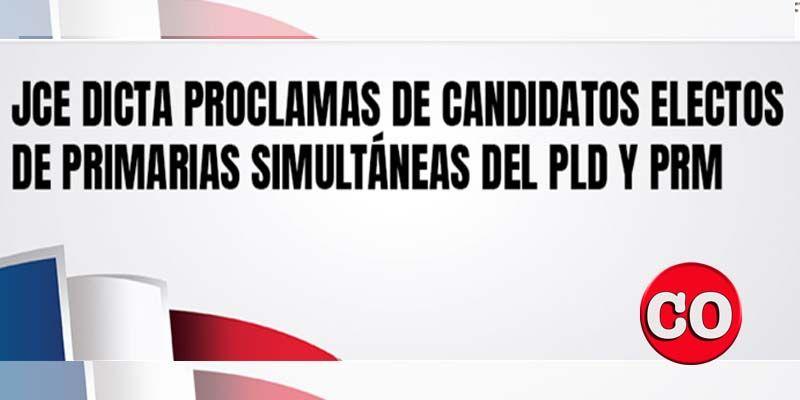 Photo of La JCE publica los nombres de todos los candidatos del PLD y del PRM electos en las primarias