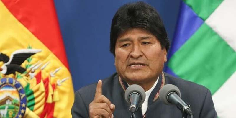 Photo of Evo Morales renuncia a la Presidencia de Bolivia, víctima de un golpe de estado derechista