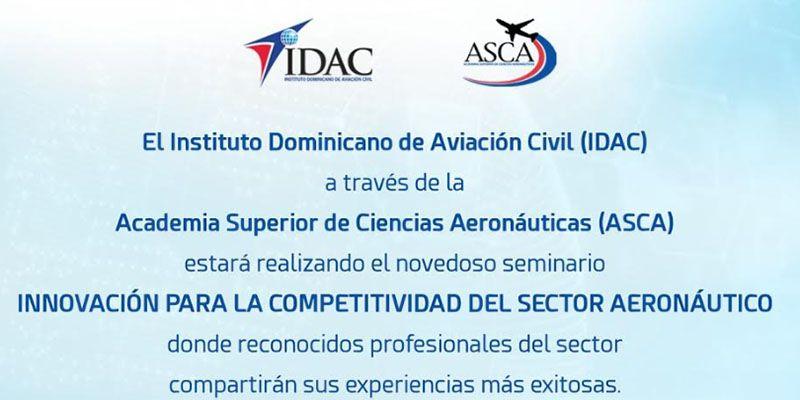 Photo of IDAC-ASCA organiza seminario Innovación y competitividad en  el sector aeronáutico