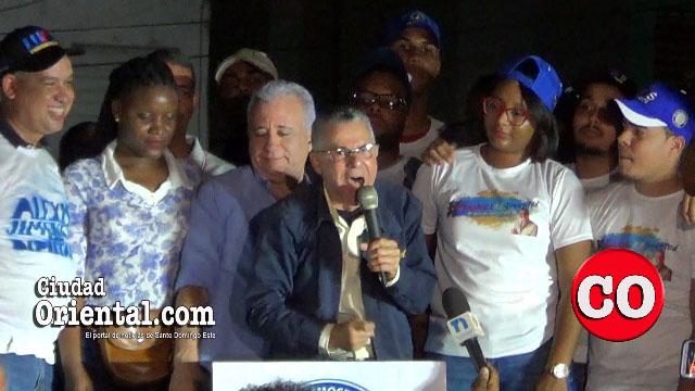 Photo of Manuel Jiménez y Antonio Taveras Guzmán a la ofensiva en la circunscripción 3 de SDE + Vídeos