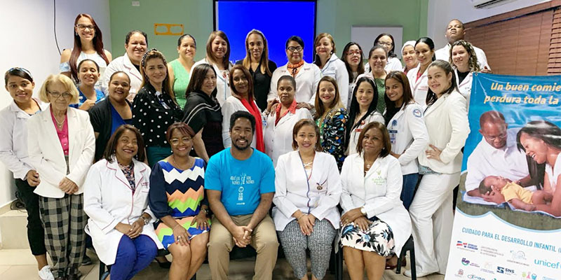 Photo of UNICEF imparte capacitación sobre el Cuidado para el Desarrollo Infantil en Maternidad de Los Mina