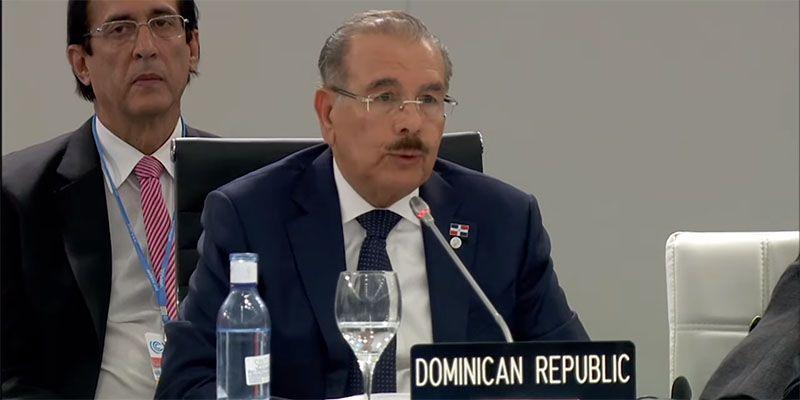 Photo of Danilo Medina propone abordar cambio climático con inversión en mitigación, fondos de emergencia y redes protección social a vulnerables