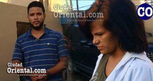 Los acusados Yoeimi Caraballo de la Cruz y Tommy Vásquez (a) Tomy