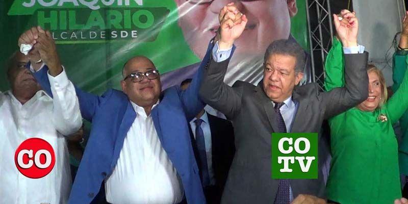 Photo of Leonel Fernández presenta candidatura de Joaquín Hilario a la Alcaldía de SDE
