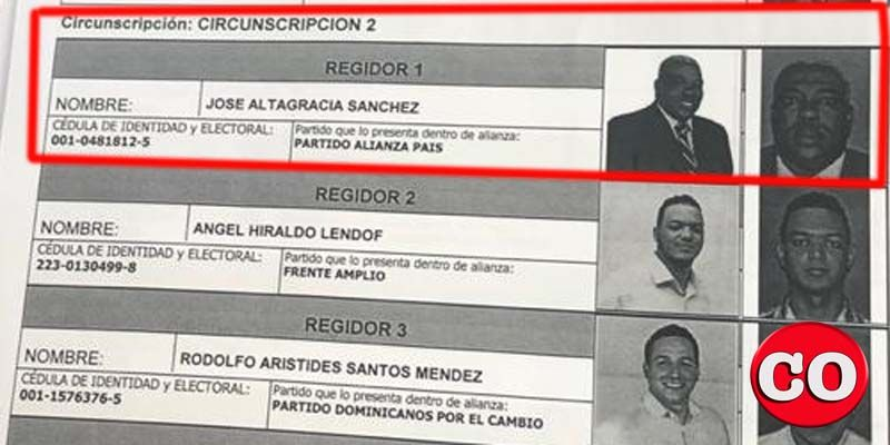 Photo of El dirigente del PRM José Sánchez es inscrito en la JE como candidato a regidor por Alianza País