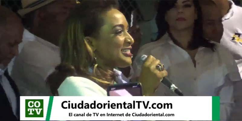 Photo of Nancy Amancio dice estaba escrito que ella sería compañera de boleta de Luis Alberto