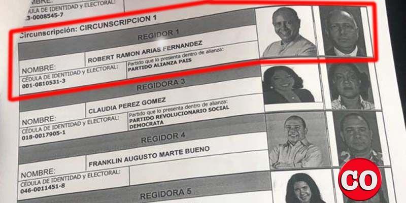 """Photo of Robert Arias también """"pertenece"""" a Alianza País y lo inscriben en el número 1 de la boleta del PRM"""