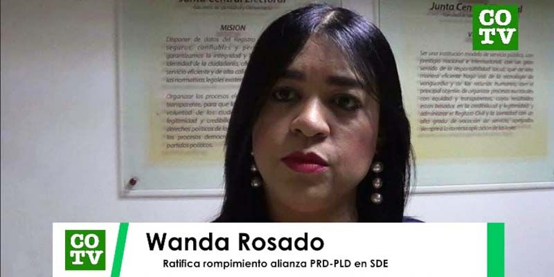 Photo of Wanda Rosado ratifica rompimiento alianza PRD-PLD en nivel municipal SDE