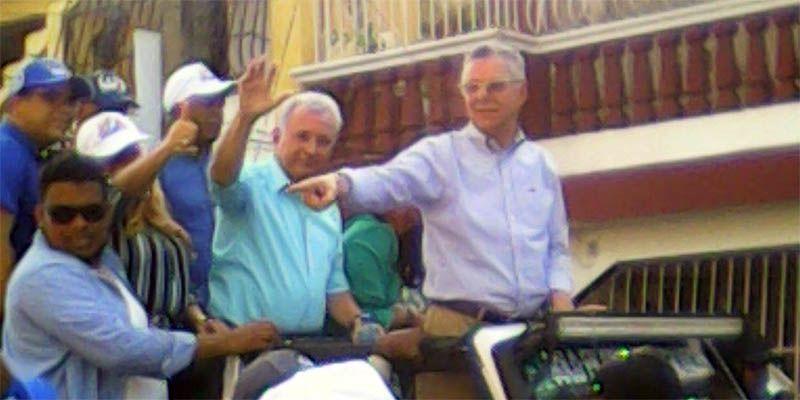 Photo of Manuel Jiménez manifiesta su regocijo tras encabezar  marcha en los sectores de Los Frailes