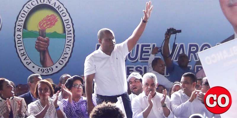 Photo of Felito Rodríguez fue la revelación en el acto del PRD en apoyo a Luis Alberto Tejeda
