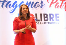 Photo of Karen Ricardo declara en el 2020 República Dominicana será libre de analfabetismo