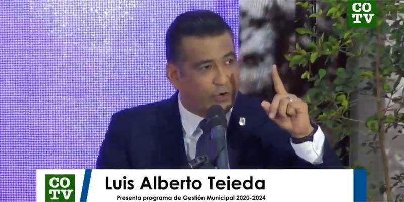 Photo of En presentación Programa de Gestión Municipal, Luis Alberto se aproxima a Juancito y se distancia de El Cañero + Vídeo