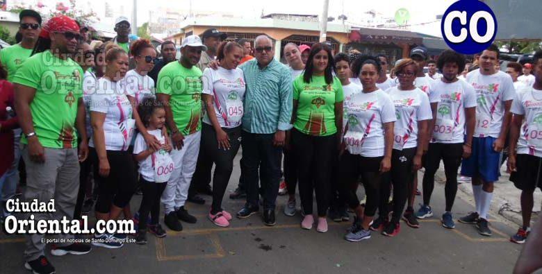 El Primer Maratón 3K, fue una fiesta del deporte en la circunscripción tres de este municipio.