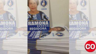 Photo of Ramona Berroa se quedó con los afiches de campaña elaborados y… con deudas