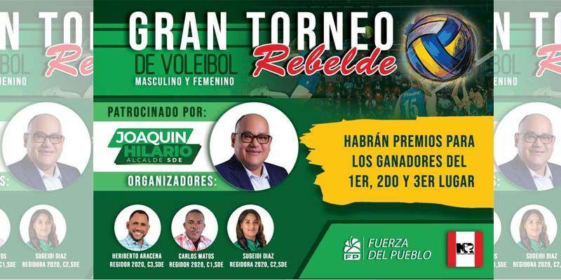 Photo of Los Rebeldes de Juan Hubieres inician campaña electoral en respaldo a Joaquín Hilario, de la Fuerza del Pueblo