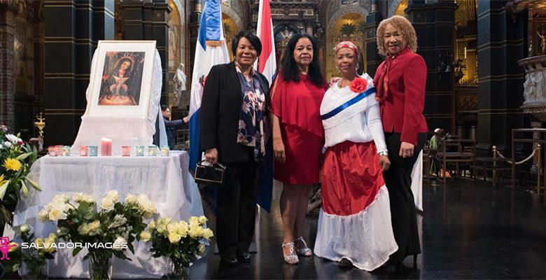 Photo of Comunidad dominicana residente en Europa hacen veneración a la Virgen de la Altagracia