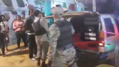 """Photo of Candidato a regidor por el PRM llama a usar """"los hierros"""" contra una unidad anti ruidos de la PN"""