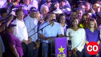 """Photo of En el cierre de su campaña, Luis Alberto Tejeda reprocha opositores """"incitan a la violencia"""" + Vídeo"""