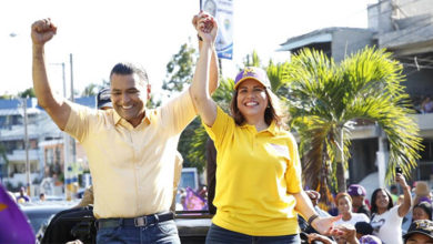 Photo of Margarita recorre Santo Domingo Este en apoyo a candidatos del PLD