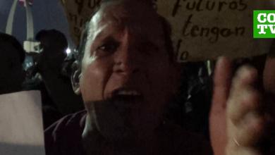 """Photo of Manifestante tacha al presidente Medina de ser un """"maldito campesino del sur profundo"""""""