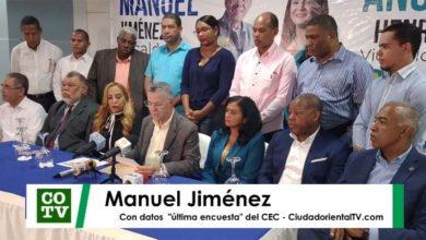 Photo of Estos son los motivos por los cuales Manuel Jiménez asegura que ganará las elecciones
