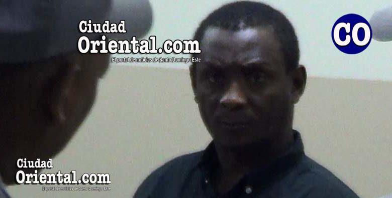 a Julio Cesar Carrera Gómez, puesto en custodia.