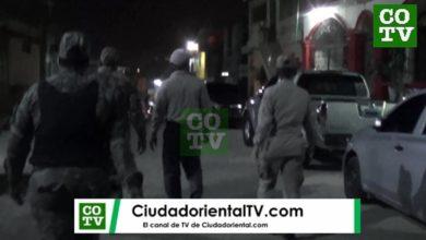 Policías incursionan en Los Tres Brazos