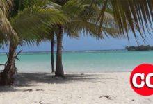 Photo of Absoluto control por las autoridades en el poblado turístico de Boca Chica; el área de la playa totalmente desierta