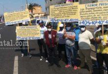 Photo of Choferes reclaman inclusión en programas sociales del gobierno por cuarentena