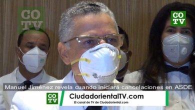 Photo of Manuel Jiménez revela cuando iniciará cancelaciones empleados en el ASDE + Vídeo