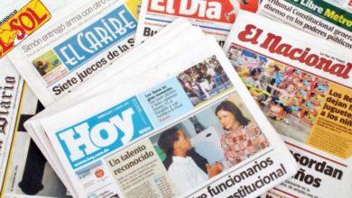 Photo of El  coronavirus da golpe mortal a los periódicos impresos en RD