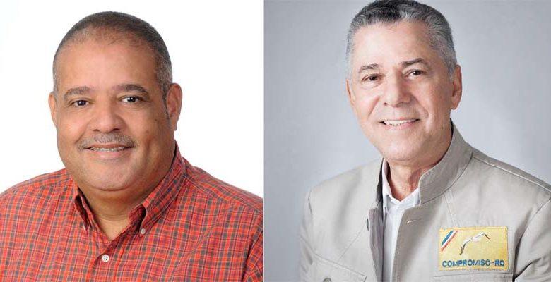 Rodolfo Valera (i) y Manuel Jiménez