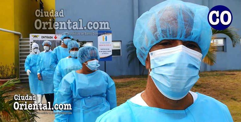 Loa dados en alta médica, dieron las gracias al personal médico y administrativo del hospital Doctor Darío Contreras.