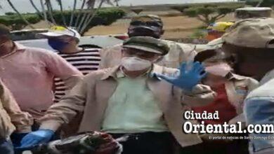 Manuel Jimenez advierter a los lavadores de carros que los desalojará