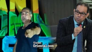 Robert Bueno (i) y Amado Díaz