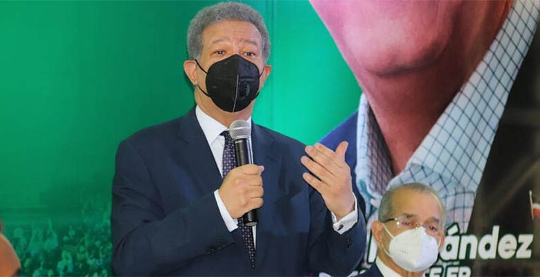 Leonel Fernández, íder de la Fuerza del Pueblo