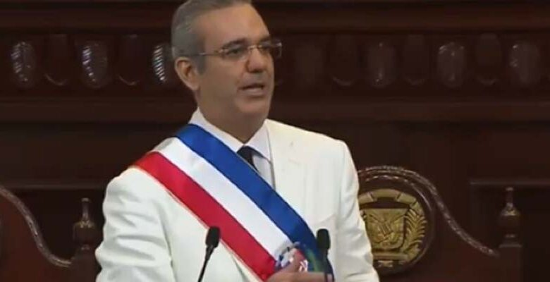 Luis Abinader, Presidente dominicano